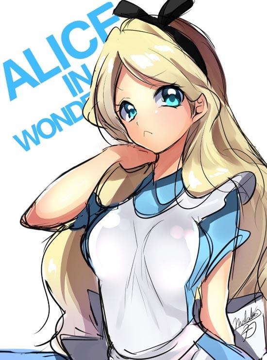 disney-anime-alice-in-wonderland
