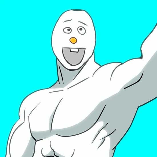 disney-anime-frozen-olaf