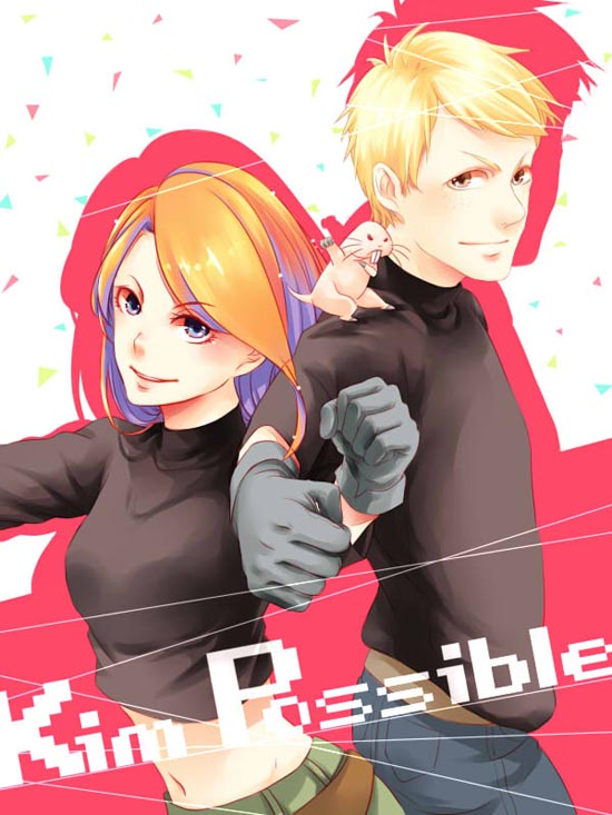 disney-anime-kim-possible