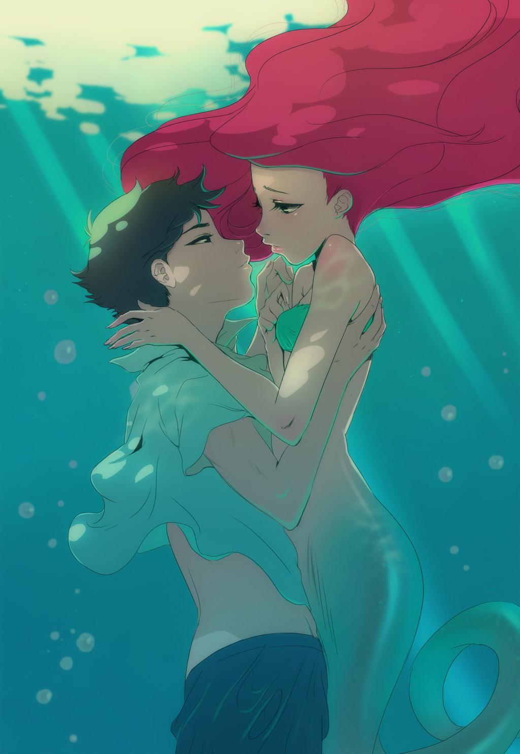 the-little-mermaid-disney-manga