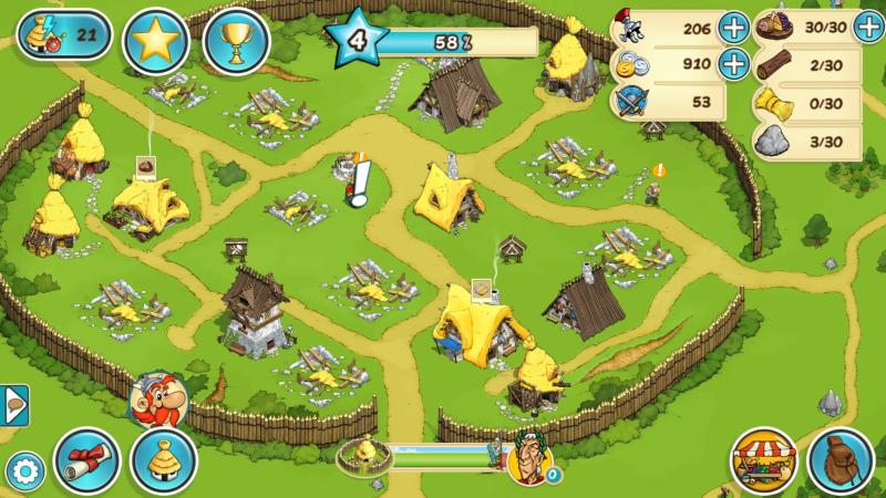 Asterix & Friends villaggio