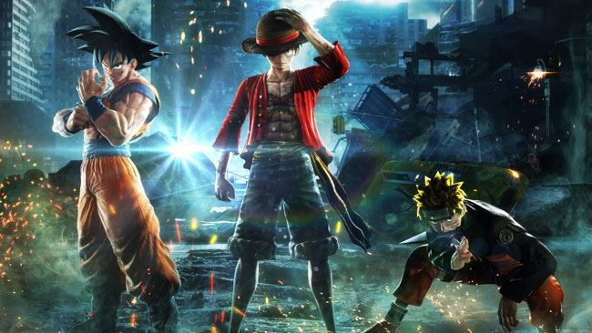 Jump Force : OnePiece, dragonball e naruto